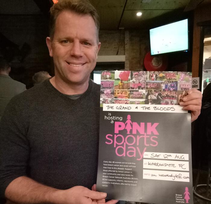 BCNA Pink Sports Day
