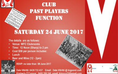 Past Players Lunch – June 24 2017
