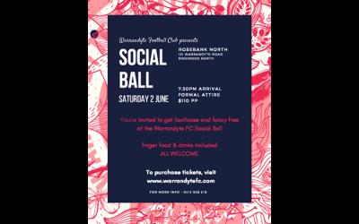 WFC Social Ball at Rosebank