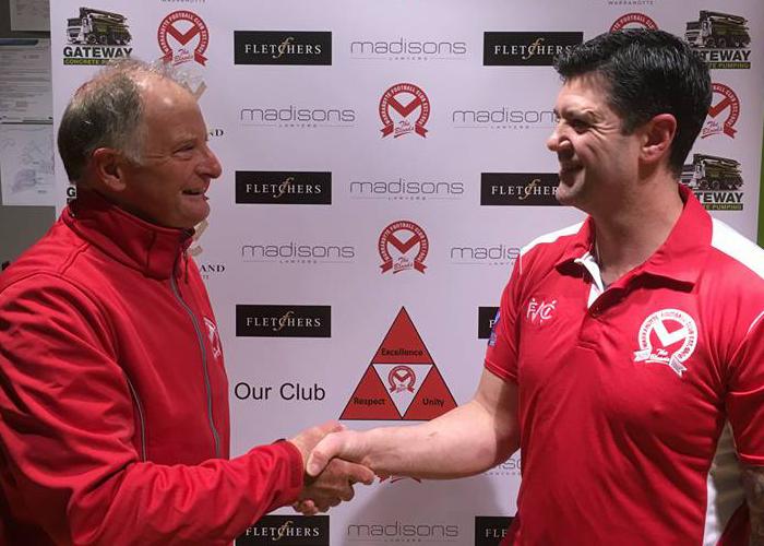 new coach at warrandyte football club