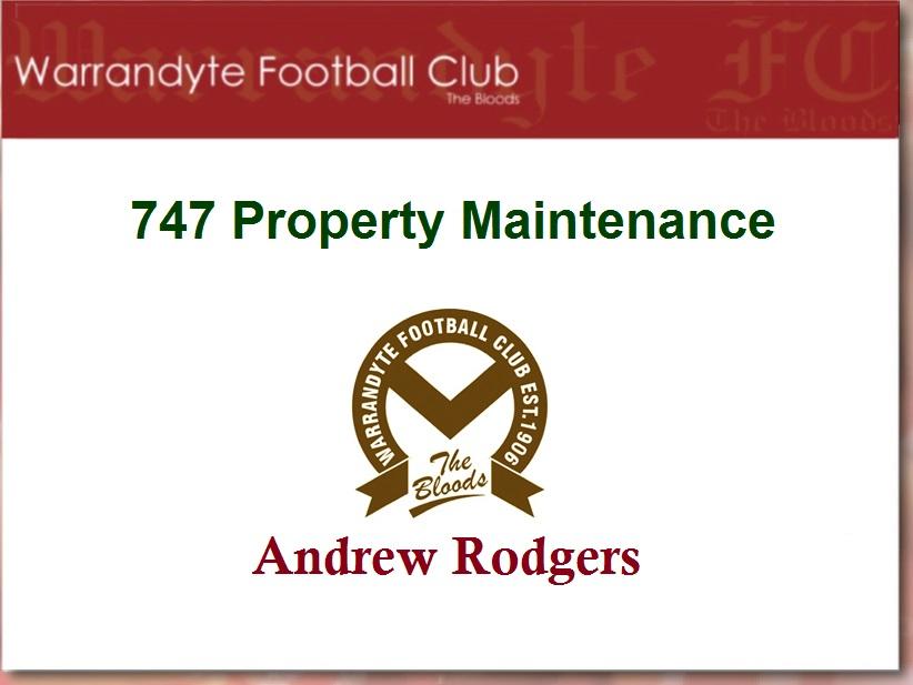 747 property maintenance